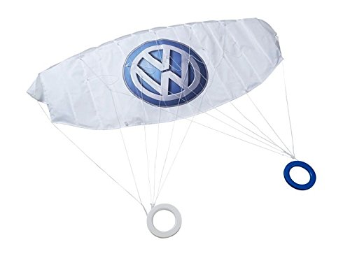 Lenkdrache Original VW Drachen Kit Matte 120x55 cm Spielzeug Weiß Logo