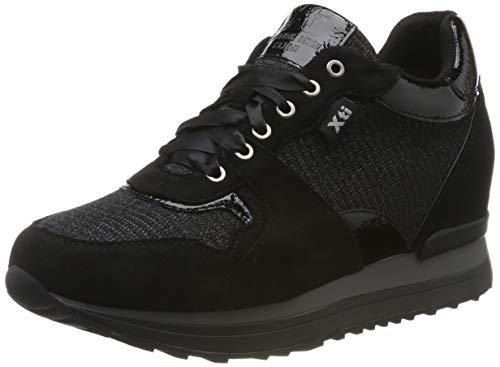 XTI 49268, Zapatillas Altas Mujer, Negro, 39 EU