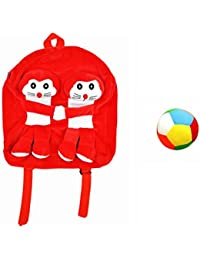 Jrp Mart Red DOBOX Soft Toy Bag With Little Ball