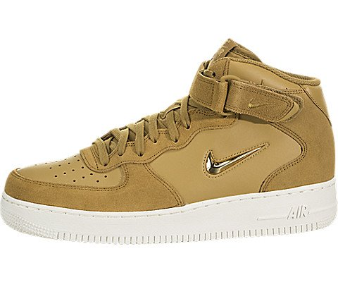 hot sales beccf cd8ab Nike Men s Air Force 1 Mid  07 Lv8 Shoe Gymnastics, Brown (Muted Bronze