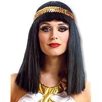 Cléopâtre perruque avec bandeau à paillettes