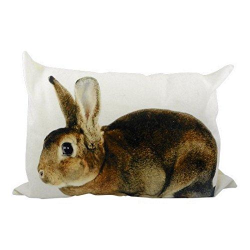 Kissen Hase - Kaninchen - Dekokissen Sofakissen 50 x 35 cm