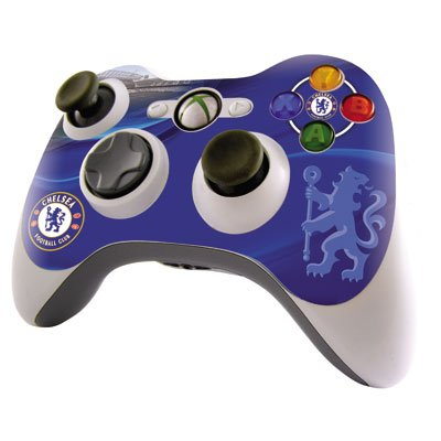 Chelsea FC Xbox 360 Controller Skin Sticker Cover - Licensed Merchandise from RetailZone