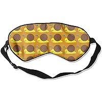 Eye Mask Eyeshade Snail Watercolor Sleep Mask Blindfold Eyepatch Adjustable Head Strap preisvergleich bei billige-tabletten.eu