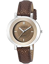Laurels Diva Brown Dial Analog Wrist Watch - For Women