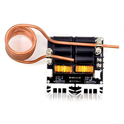 Banbie8409 Niedriges Zvs 12-48V 20A 1000W Niederspannungsinduktionserwärmungsbrett-Maschinen-Modul (Schwarzes) -