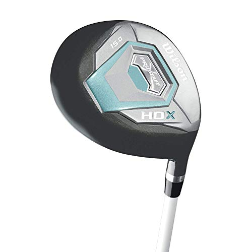 Wilson Staff Damen Golf PRO HDX LRH GRAPHITE HOLZ 5 Schwarz Mint, One size -