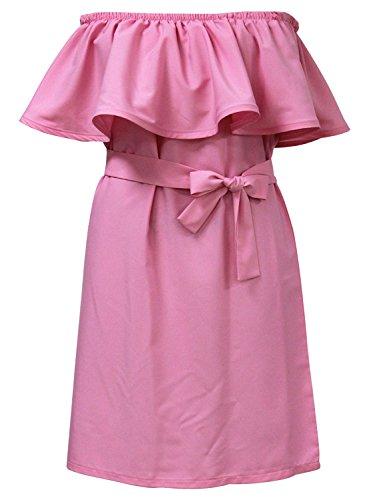 Futurino - Robe - Tunique - Femme Taille Unique Rose