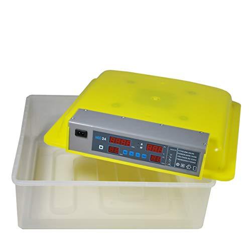 Inkubator Brutmaschine EW-48 mit Zeitschaltuhr, automatische Wendefunktion, Temperaturregler und Temperaturalarm - 2