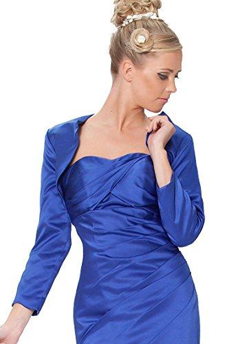 sexyher damas / matt robe de satin veste bol¨¦ro en plusieurs couleurs Royalblue