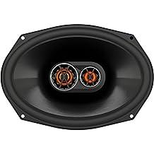 JBL Club 9630 - Altavoces coaxiales de automóvil (3 vías, 240 W, 93 dB, 50 – 20000 Hz), color negro