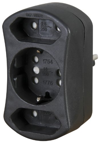 Kopp - Adaptateur Duoversal - noir (Import Allemagne)