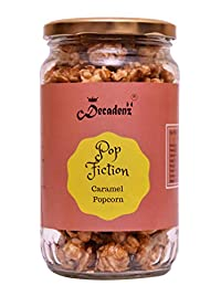 Pop Fiction Gourmet Caramel Popcorn || 150 GMS Jar