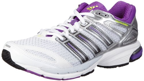 adidas Performance Response Stabil 5 Q33529, Damen Laufschuhe, Weiß (Running White/Ray Purple F13/Night Met. F13), EU 39 1/3 (UK 6)