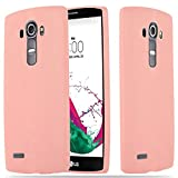 Cadorabo Hülle für LG G4 - Hülle in Candy ROSA – Handyhülle aus TPU Silikon im Candy Design - Silikonhülle Schutzhülle Ultra Slim Soft Back Cover Case Bumper