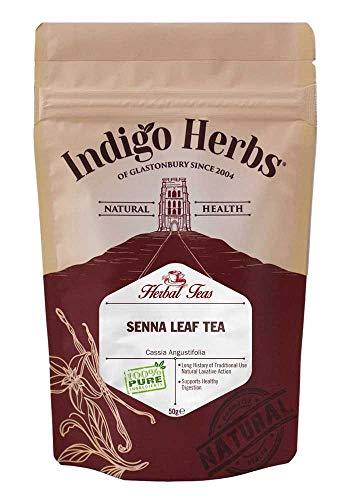 Indigo Herbs Té de Hoja de Sen 50g