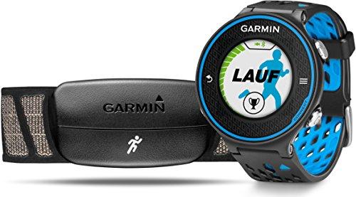 Garmin Forerunner 620 GPS-Laufuhr - Laufeffizienzwerte, Trainingssteuerung- und auswertung, inkl. Herzfrequenz-Brustgurt, 1 Zoll (2,5cm) Farbdisplay Bluetooth-pda-phone