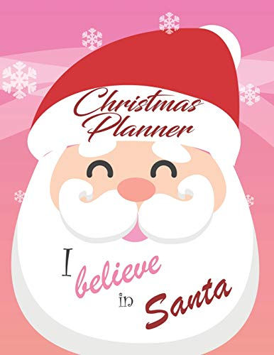 Christmas Planner: Ultimate Holiday Party Organizer with Recipe Cards, Shopping Lists, Budget Planner, Gift List, Monthly and Weekly Planners & So Much More