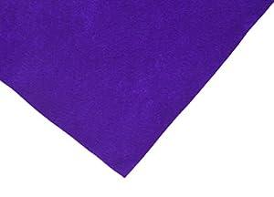Hollandfelt 01P - Juego de 6 Hojas de Fieltro de Lana (20 x 30 cm), Color Amarillo