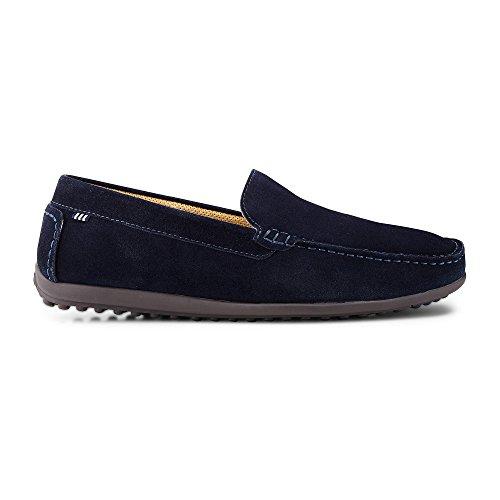 Belmondo Herren Fashion-Slipper blau-dunkel