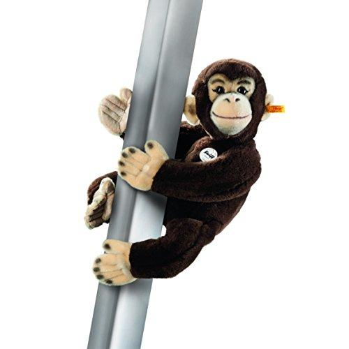 Steiff 060212 - Jocko Magnet-Schimpanse 50, dunkelbraun