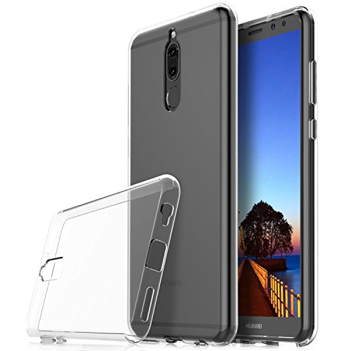 QULLOO Huawei Honor Magic 2 Hülle Cover, TPU Hülle Schutzhülle Crystal Case Durchsichtig Klar Silikon transparent für Huawei Honor Magic 2 (Transparent)