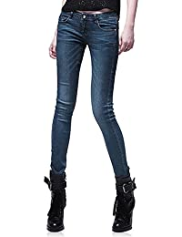 Demon&Hunter 812 Serie Frau damen Aufstieg Demi Curve Dünn Jeanshose Jeans