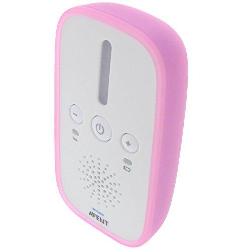 Tasche für Philips Avent SCD501 Gummi TPU Schutz Hülle pink