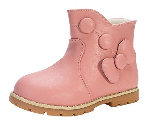 Y-BOA Bottes De Neige Princesse Chaudes Souples Enfants Fille Hiver Chaussures Fourrure Snow Boots