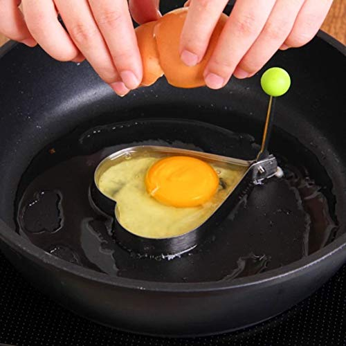Forma acero inoxidable freír huevos Herramientas
