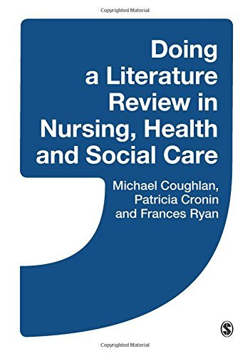 Doing a Literature Review in Nursing, Health and Social Care by Coughlan, Michael, Cronin, Patricia, Ryan, Frances (March 31, 2013) Paperback