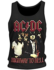 Ac/dc Débardeur AC/DC - Highway To Hell Taille XL