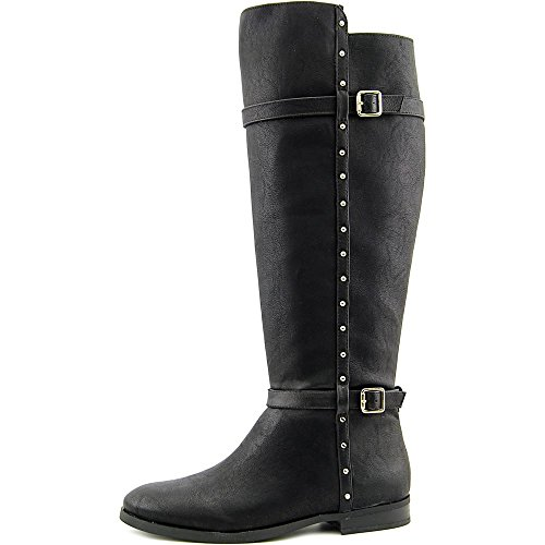 INC International Concepts Ameliee Wide Calf Synthétique Botte Black