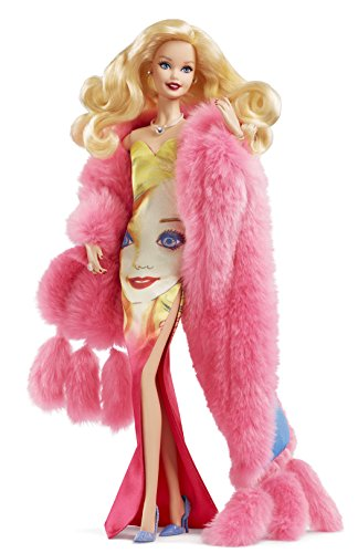 Barbie Mattel DWF57 Collector Andy Warhol Puppe