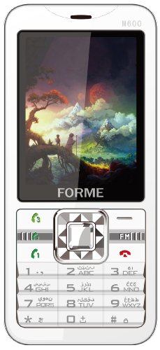 Forme M600 Triple Simcell Phone (white )