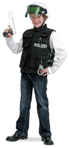 üm Polizei Weste als Polizist verkleiden Gr.140 ()