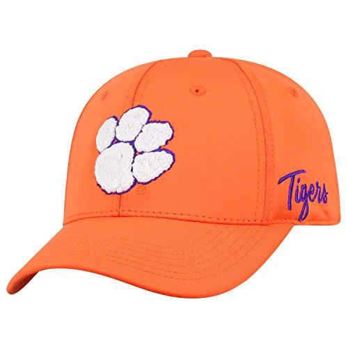 Top of the World NCAA Clemson Tigers Phenom Memory Fit 1fit Mütze orange verstellbar
