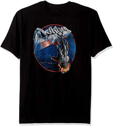 Trendy Herren Dokken Tooth und Nail Fashion Graphic T-Shirt
