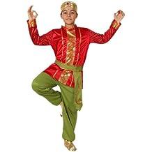 Atosa , Disfraz de hindú para niño, talla 10 , 12 años (8422259158479)