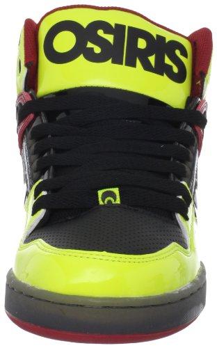 Osiris, Scarpe Sport Lifestyle Uomo Multicolore (BLACK/YELLOW/RED)