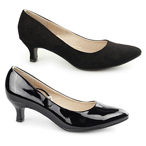 buy popular 773b2 71140 Comfort Plus Damen Pumps schwarz schwarz