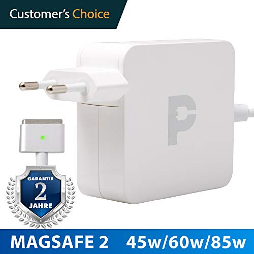 Magsafe 2 45w - Ladekabel MacBook Air | 2 Jahre Garantie auf 45w Magsafe 2 Power Adapter | Zertifiziertes Ladekabel für Apple MacBook air A1465 / A1466