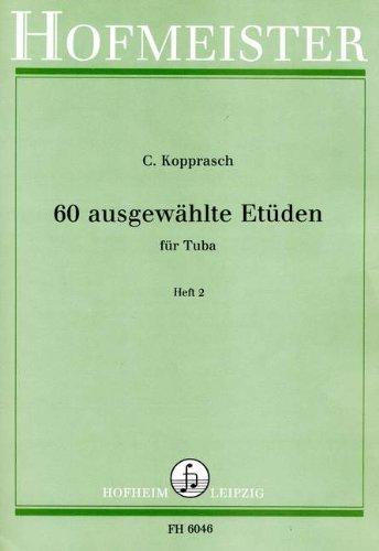 60 AUSGEWAEHLTE ETUEDEN 2 - arrangiert für Tuba [Noten / Sheetmusic] Komponist: KOPPRASCH C