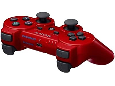 PlayStation 3- PS3 - RED OFFICIAL Rapid fire Controller - Elite Mod- 10 Mod