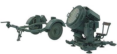 AFV Club AFV35125 1/35 Flakscheinwerfer mit Süd Anhänger 51, 60 cm von AFV CLUB