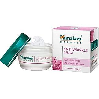 Himalaya Herbals Anti-Wrinkle Cream 50 g,   Previene las arrugas, hidrata y energiza la crema facial   Tratamiento natural para una piel hermosa y saludable