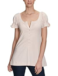 Anecdote Damen Shirt/ Langarmshirt Maggie wrinkled sleeve