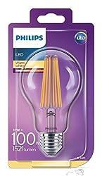 Philips LEDclassic Lampe ersetzt 100W, E27, warmweiß (2700 Kelvin), 1521 Lumen,1-er Pack