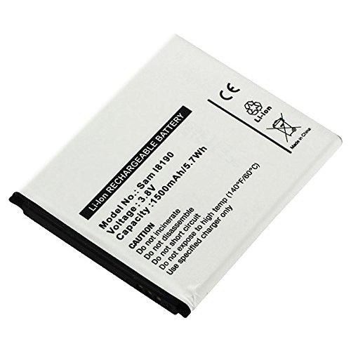 subtel Qualitäts Akku für Samsung Galaxy S3 mini / Ace 2 / Trend / Trend Lite / Trend Plus / S Duos (1500mAh) EB-FIM7FLU Ersatzakku Batterie