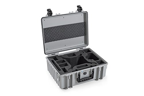 B&W outdoor.cases Typ 6000 mit DJI Phantom 4 Inlay - Das Original